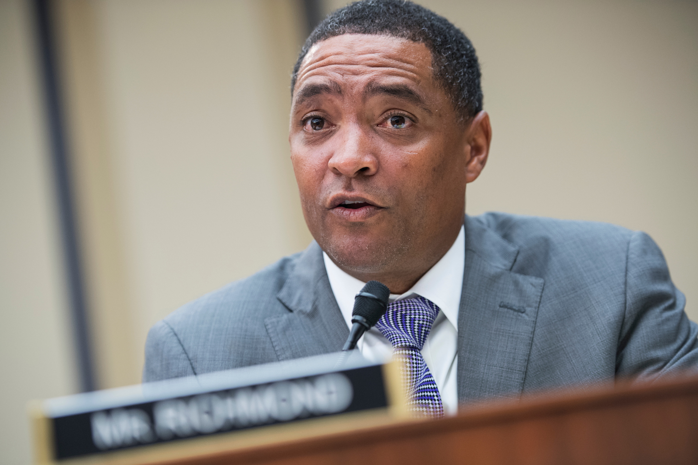 Since being elected chairman of the Congressional Black Caucus last fall, Rep. Cedric L. Richmond has not been shy about speaking up on several issues. (Tom Williams/CQ Roll Call file photo)