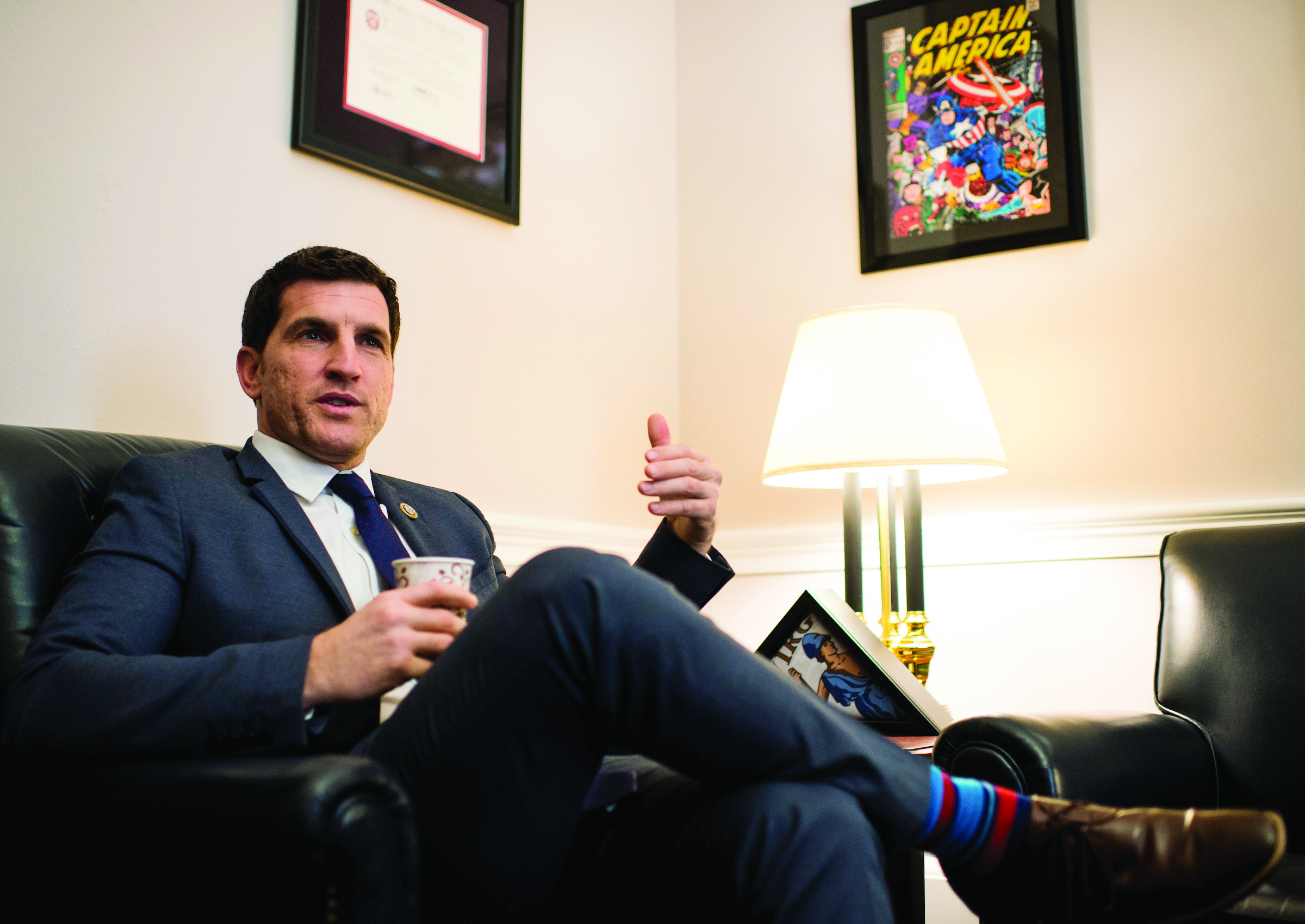 Virginia Rep. Scott Taylor says he considers himself both a budget hawk and a defense hawk. (Bill Clark/CQ Roll Call file photo)