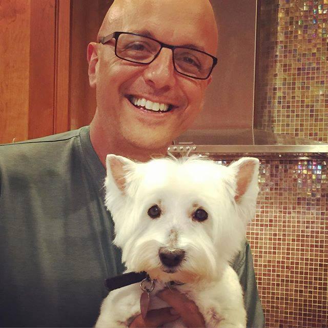 "Florida Rep. <a class=""memberLink"" title=""Click to view member info in a new window"" href=""http://data.rollcall.com/members/31002?rel=memberLink"" target=""_blank"">Ted Deutch</a> brings his dog Jessie to work with him to play with staffers' dogs who frequent the office. (Courtesy Deutch's office)"
