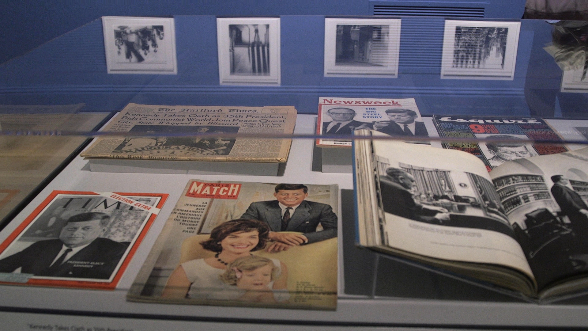A collection of memorabilia illustrating the life of President John F. Kennedy is on exhibit at the Smithsonian American Art Museum through September. (Thomas McKinless/CQ Roll Call file photo)