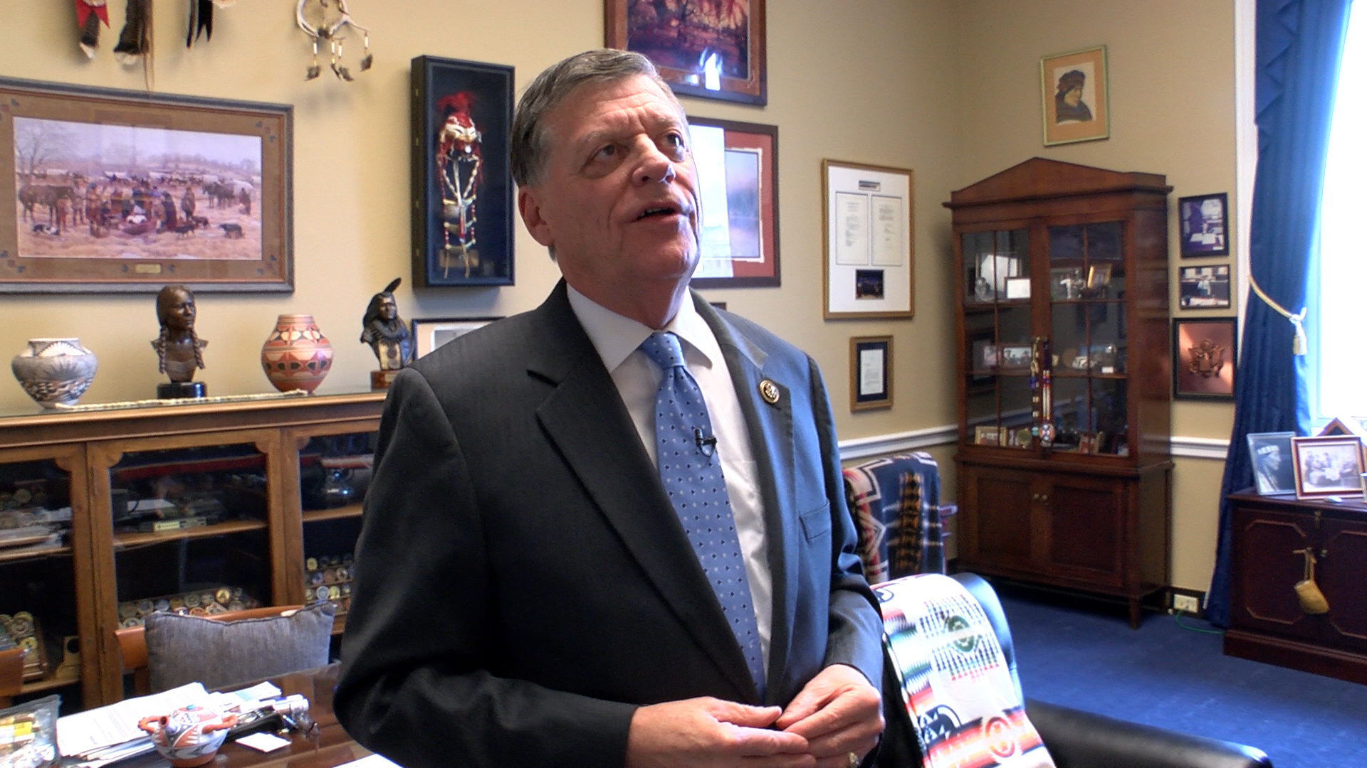Rep. Tom Cole is a member of the citizen of the Chickasaw Nation of Oklahoma. (JM Rieger/ CQ Roll Call file photo)