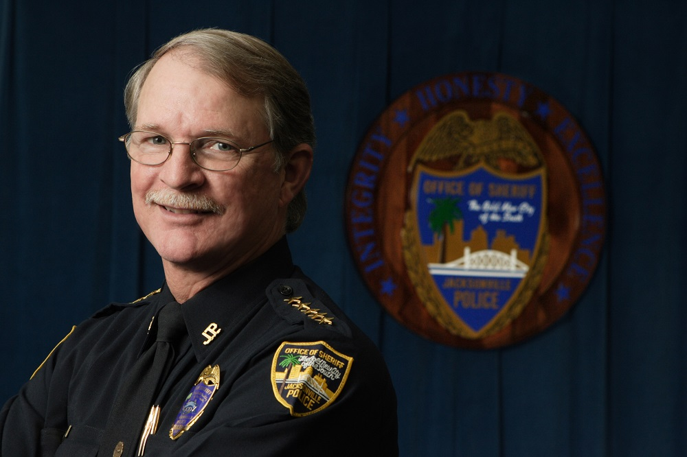 Rutherford was sheriff of Duval County from 2003 to 2015. (Courtesy Rutherford's office)