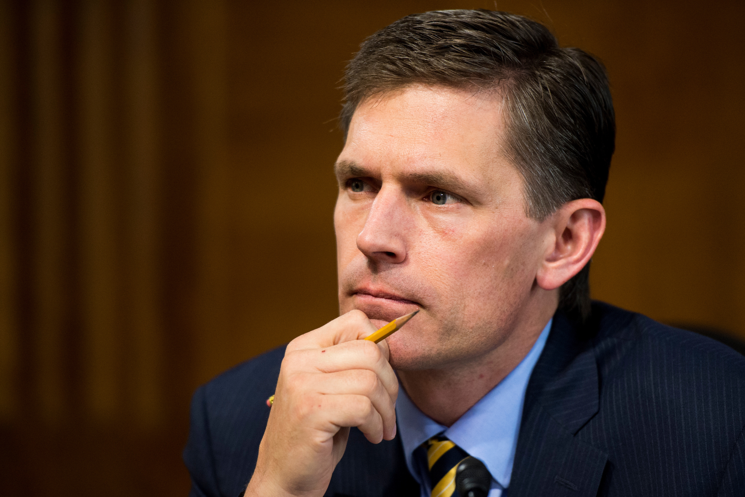 New Mexico Sen. Martin Heinrich has said members of his staff and family have been targets of cyberattacks. (Bill Clark/CQ Roll Call file photo)