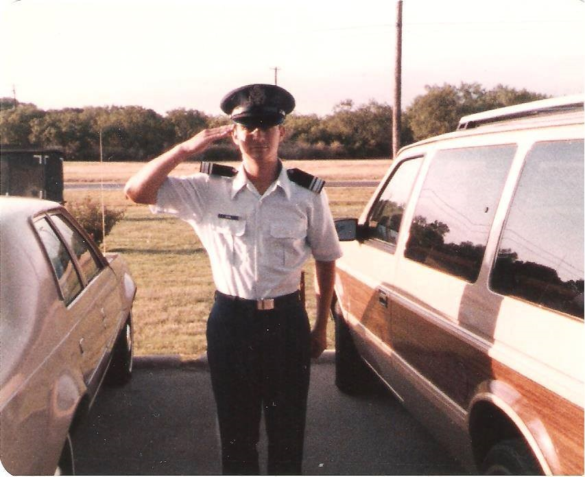 Rep. Don Bacon, R-Neb., in 1985, the first year of his nearly 30 year career in the Air Force. (Courtesy Bacon)