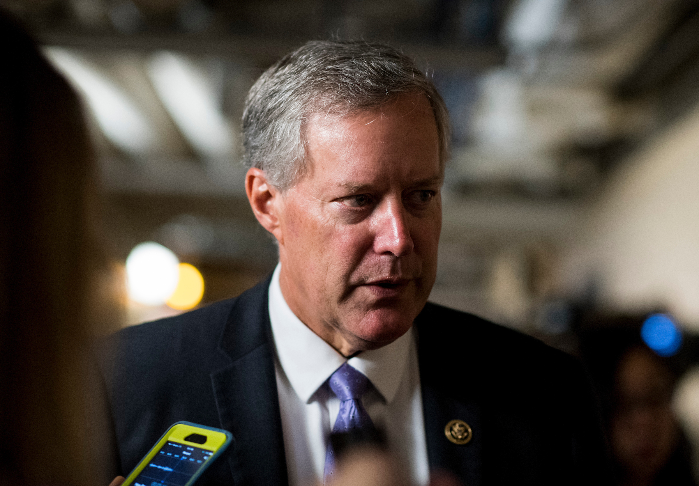"The House Ethics panel is reviewing whether North Carolina Rep. <a class=""memberLink"" title=""Click to view member info in a new window"" href=""http://data.rollcall.com/members/44624?rel=memberLink"" target=""_blank"">Mark Meadows</a> violated House rules by keeping a top aide on the payroll after the aide was accused of harassment. (Bill Clark/CQ Roll Call File Photo)"