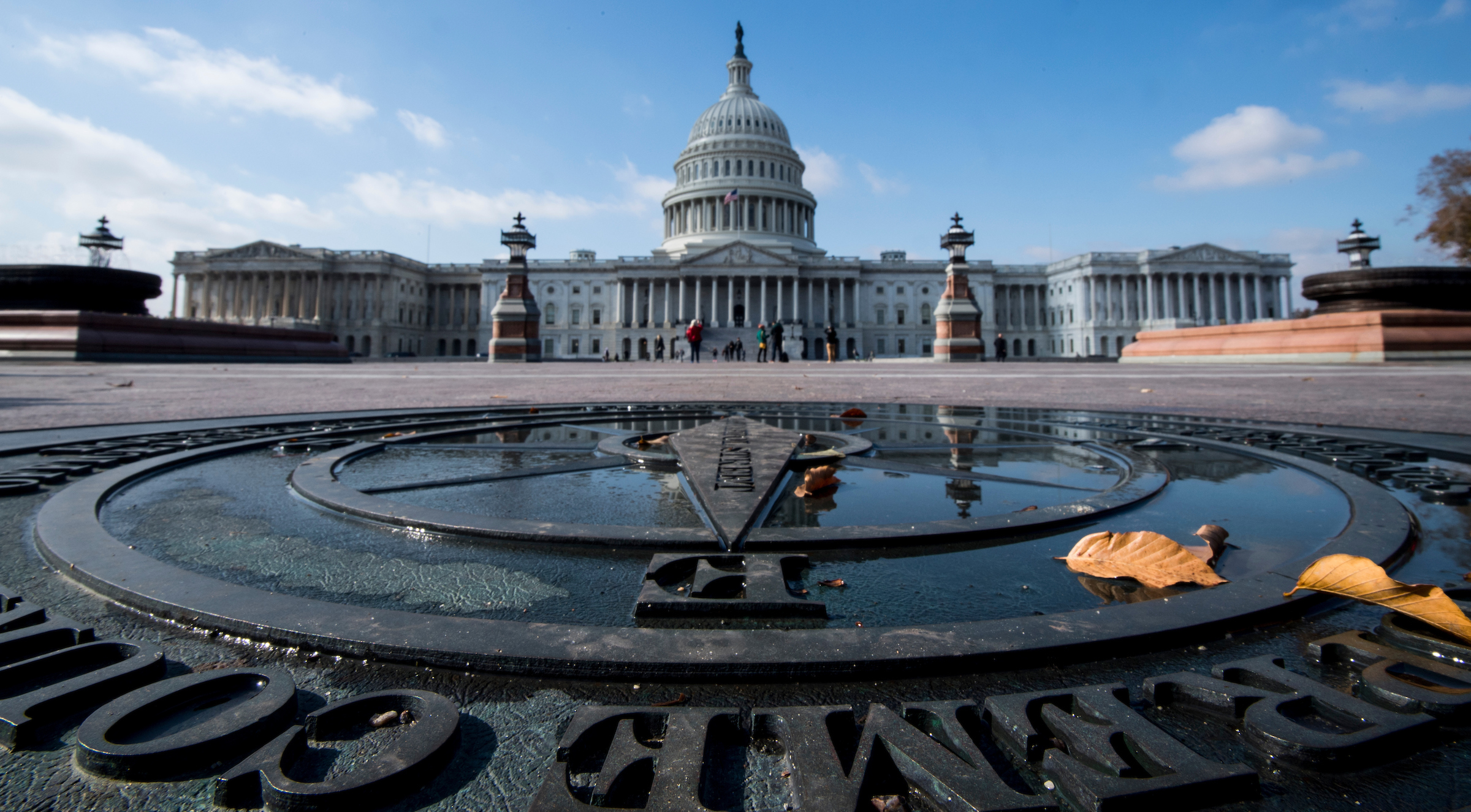 UNITED STATES - NOVEMBER 13: The U.S. Capitol building is shown from the east plaza on Monday, Nov. 13, 2017. (Photo By Bill Clark/CQ Roll Call)