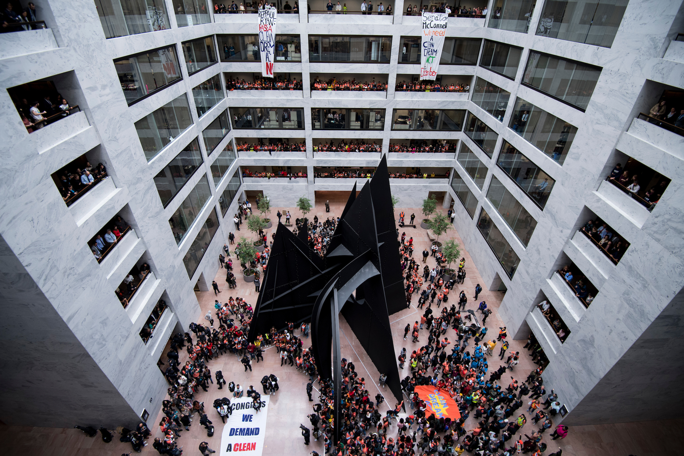 Hart Senate Office Building on Thursday. (Bill Clark/CQ Roll Call)