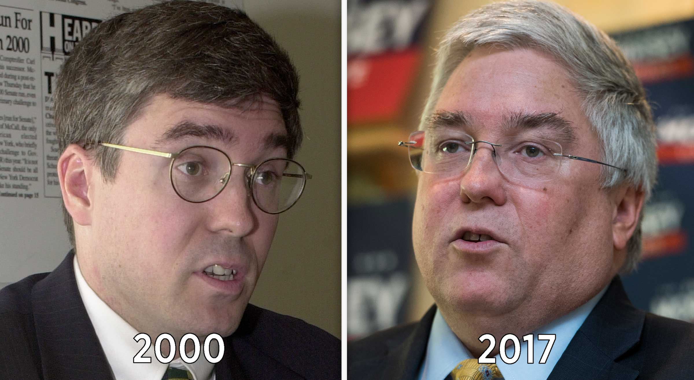West Virginia Attorney General Patrick Morrisey is running for Senate this year, 17 years after his unsuccessful run for the House — from New Jersey.
