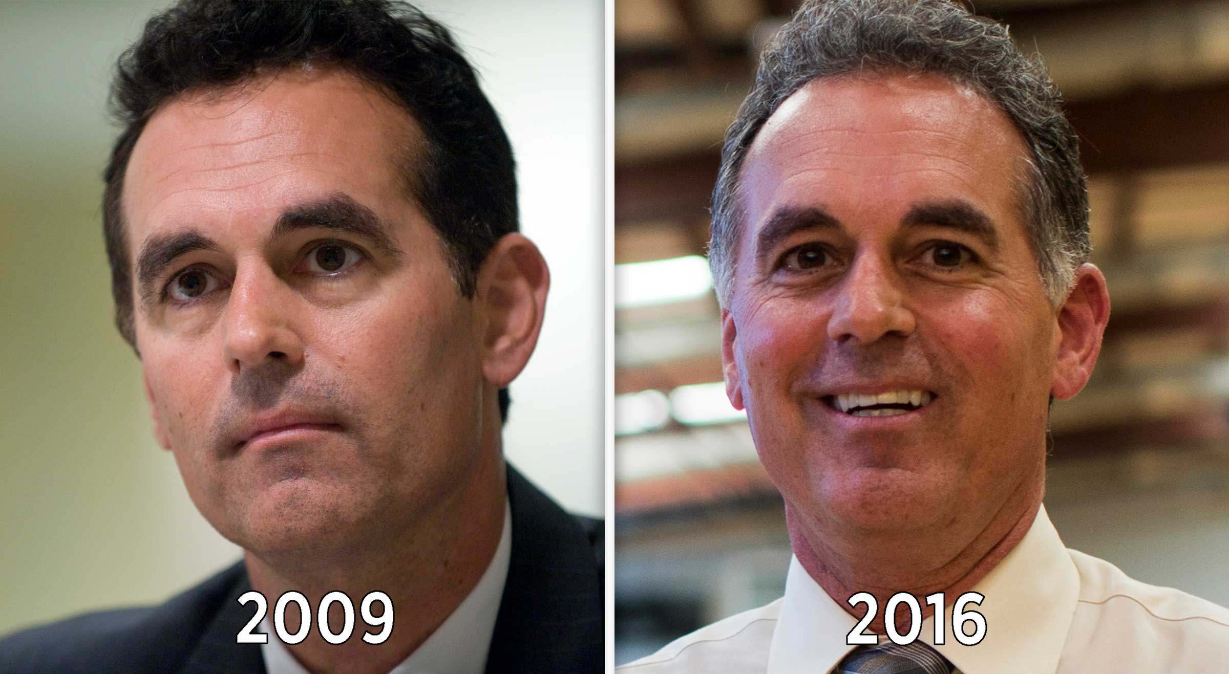 A Senate run in 2010 is among Danny Tarkanian's several unsuccessful bids for higher office. But he's hoping for better luck with his Senate run this year.