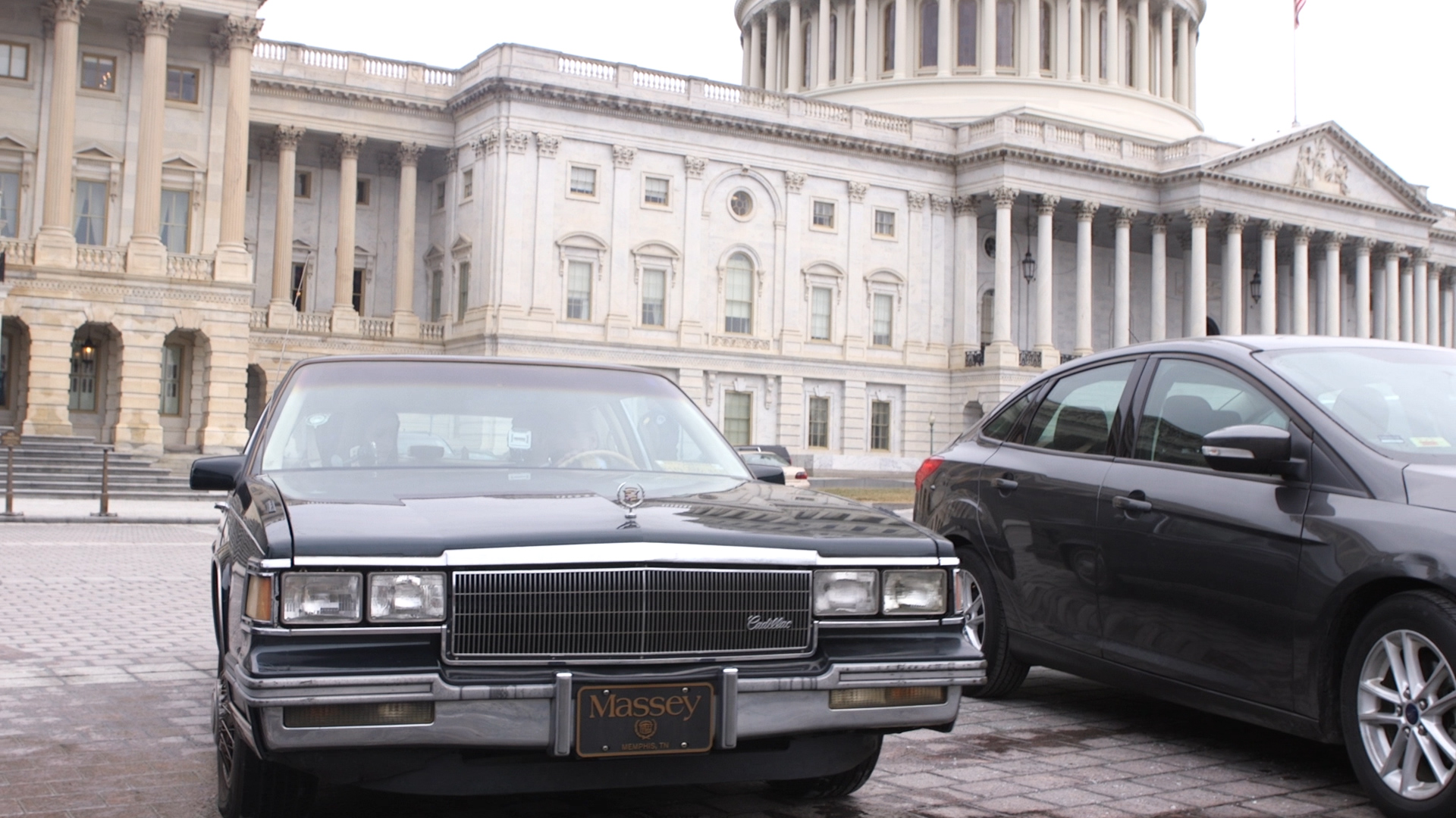 The car Cohen keeps in D.C. used to belong to his mother. (Thomas McKinless/CQ Roll Call)
