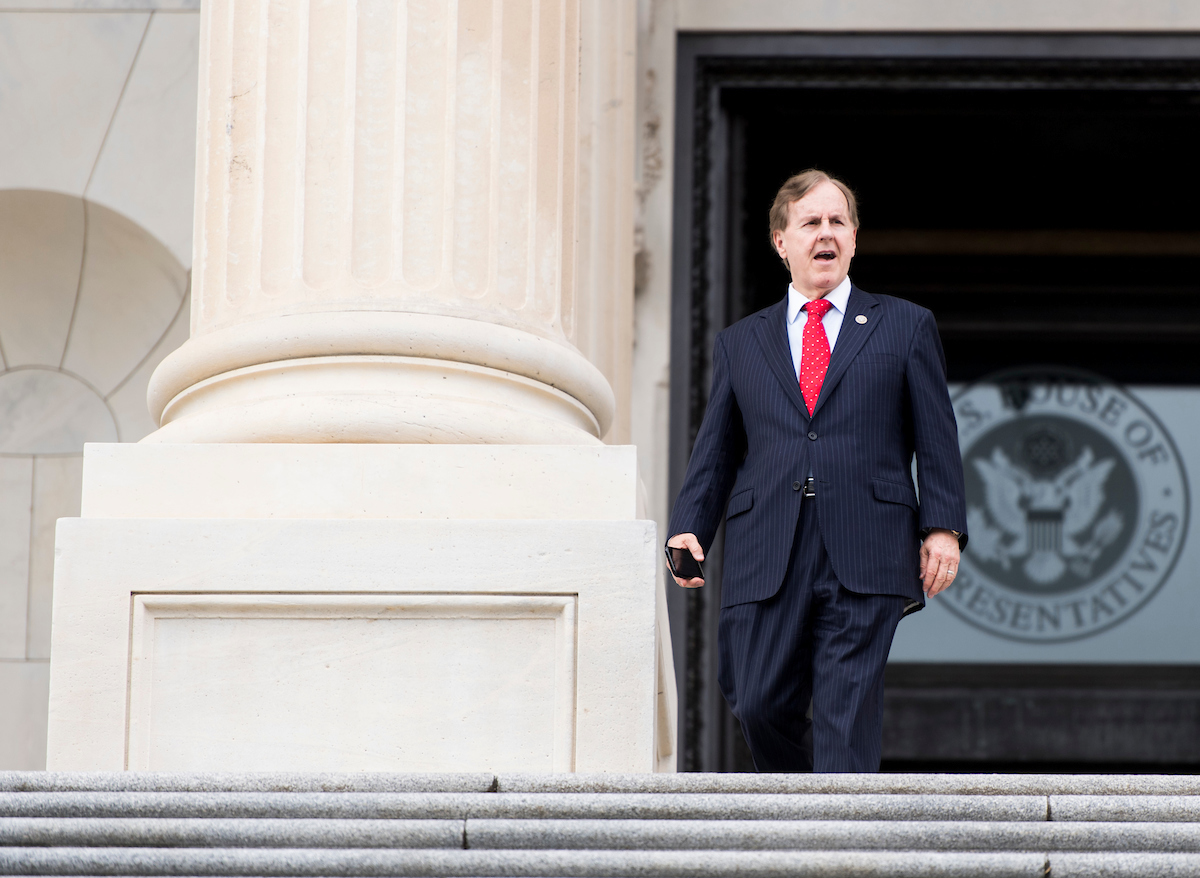 North Carolina GOP Rep. Robert Pittenger is the first incumbent to lose in 2018. (Bill Clark/CQ Roll Call file photo)