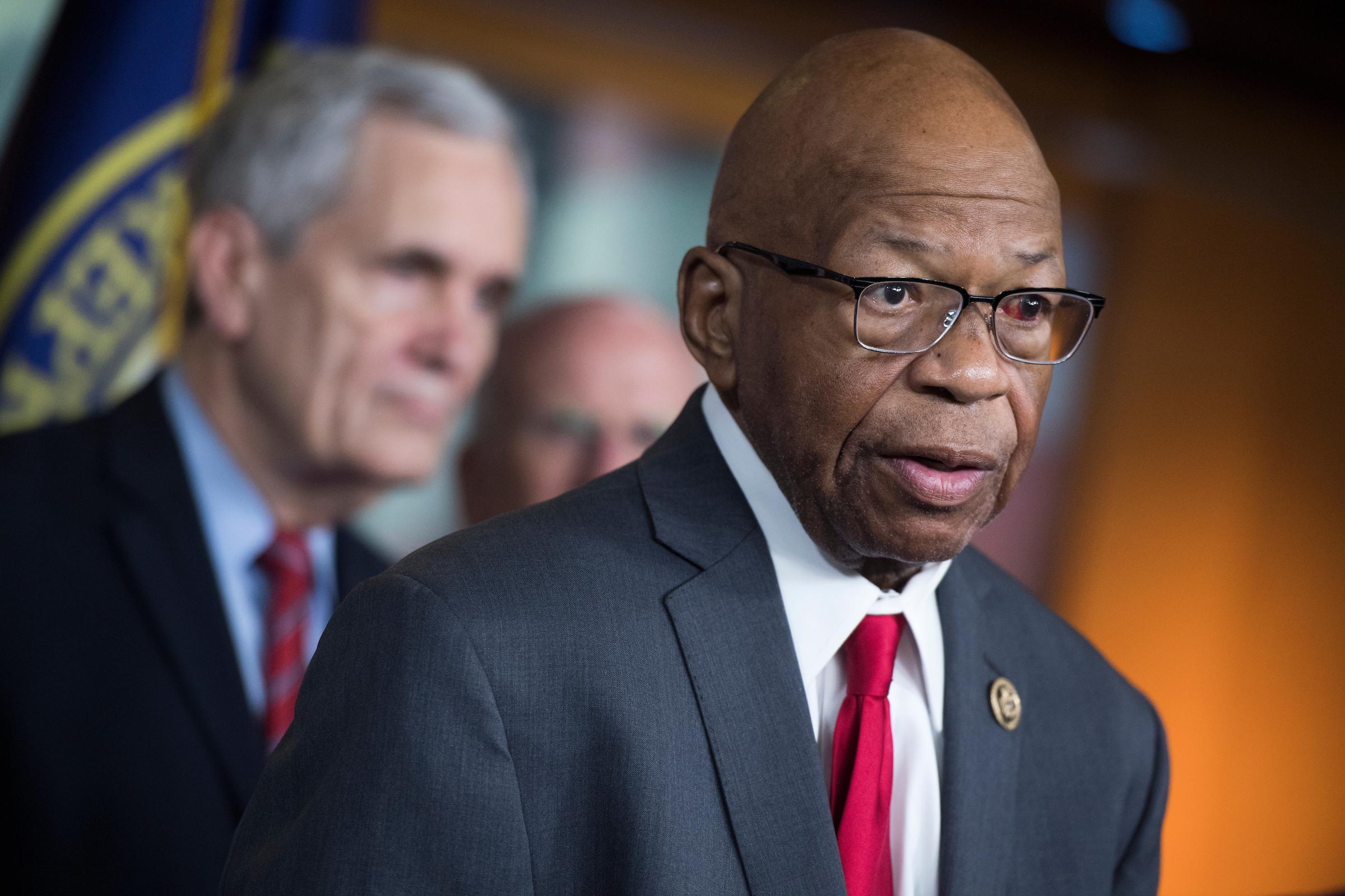 A bill introduced by Rep. Elijah E. Cummings uses HIV legislation as a model.(Photo By Tom Williams/CQ Roll Call)