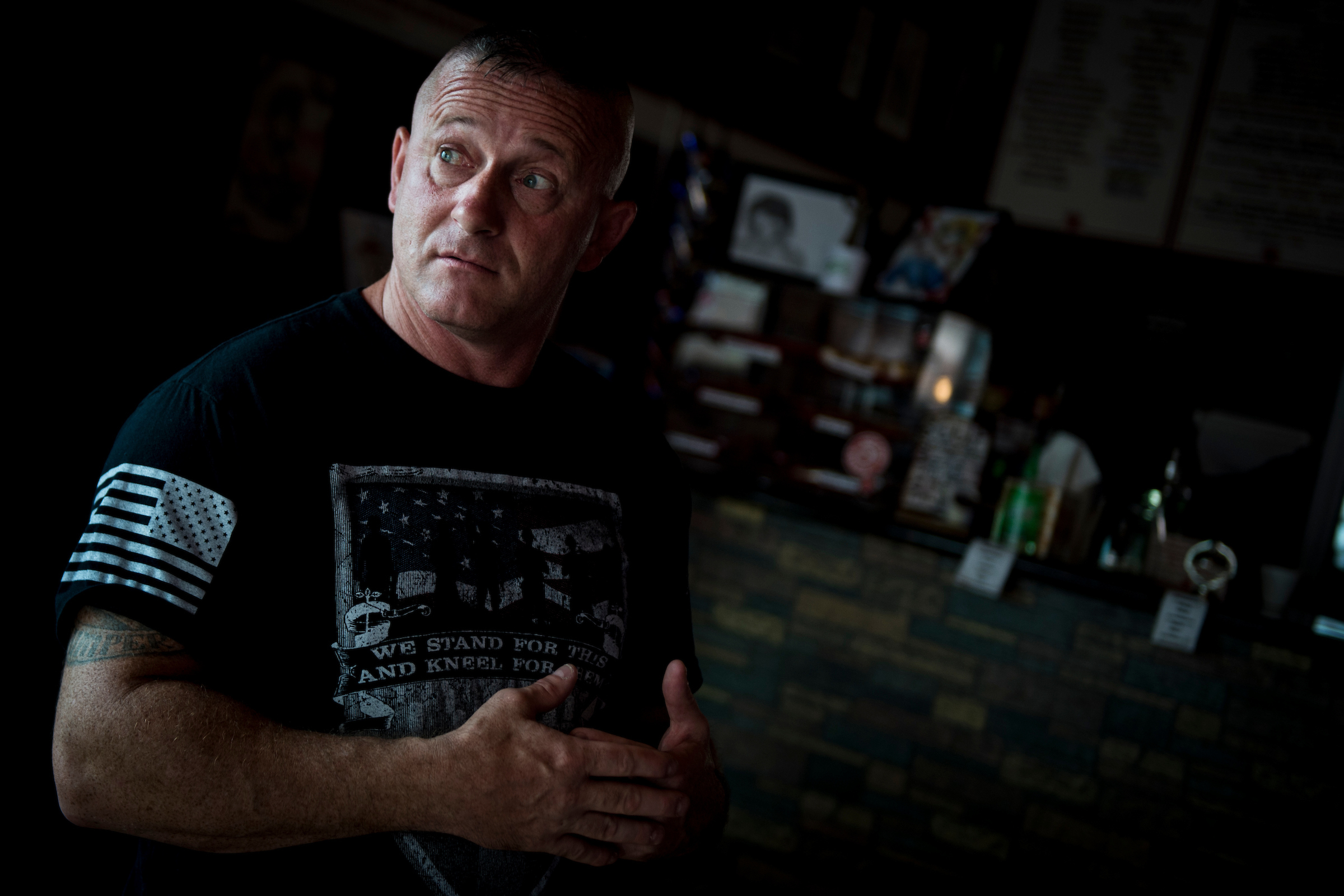 Richard Ojeda is running for West Virginia's 3rd District. (Sarah Silbiger/CQ Roll Call)