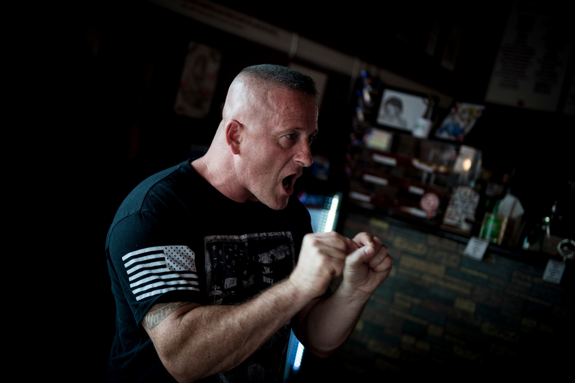 West Virginia state Sen. Richard Ojeda has become a media star this year, with national Democrats now behind his campaign for the House. But it wasn't always that way. (Sarah Silbiger/CQ Roll Call)