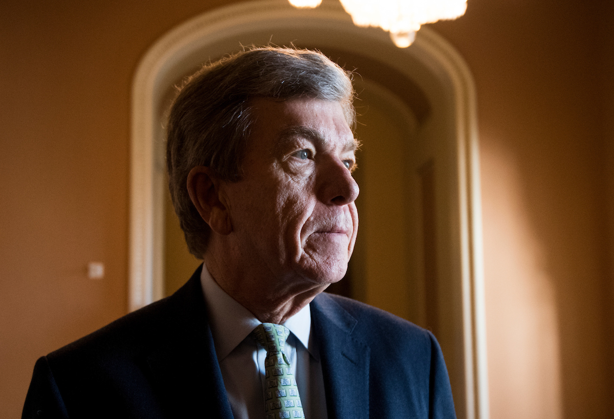 Senate Rules and Administration Committee Chairman Roy Blunt, R-Mo., echoed his House counterpart in saying members and staff are making progress on the sexual harassment bills. (Bill Clark/CQ Roll Call file photo)