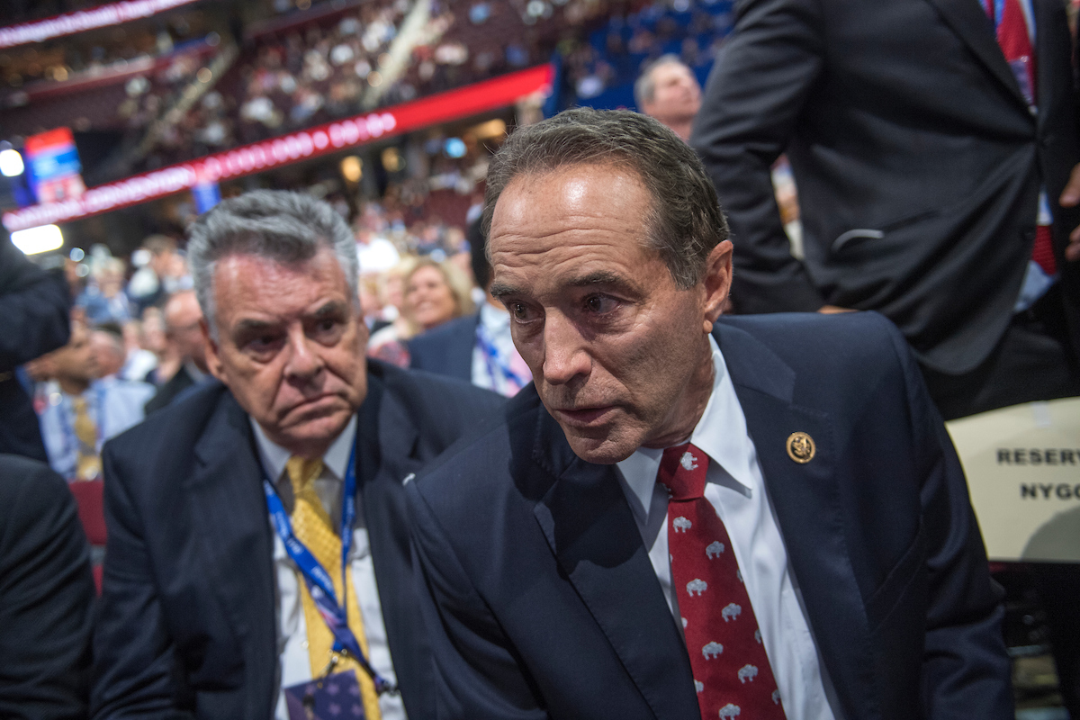 New York GOP Rep. Chris Collins was indicted on Wednesday. (Tom Williams/CQ Roll Call file photo)