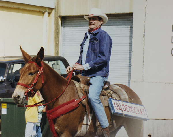 "The late Rep. Charlie Wilson, D-Texas, of ""Charlie Wilson's War"" fame, rode tall in the saddle. (CQ Roll Call file photo)"