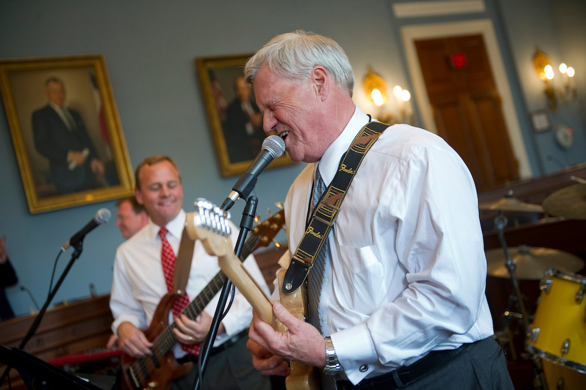 Democratic Rep. Collin Peterson is running for re-election in a district Trump carried by 30 points, and this year he's gearing up for a race. (Chris Maddoloni/CQ Roll Call file photo)