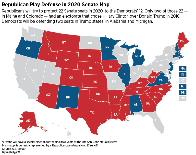 It\'s Not Too Early to Start Looking at the 2020 Senate Map