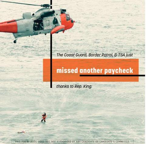 Screenshot of DCCC ad.