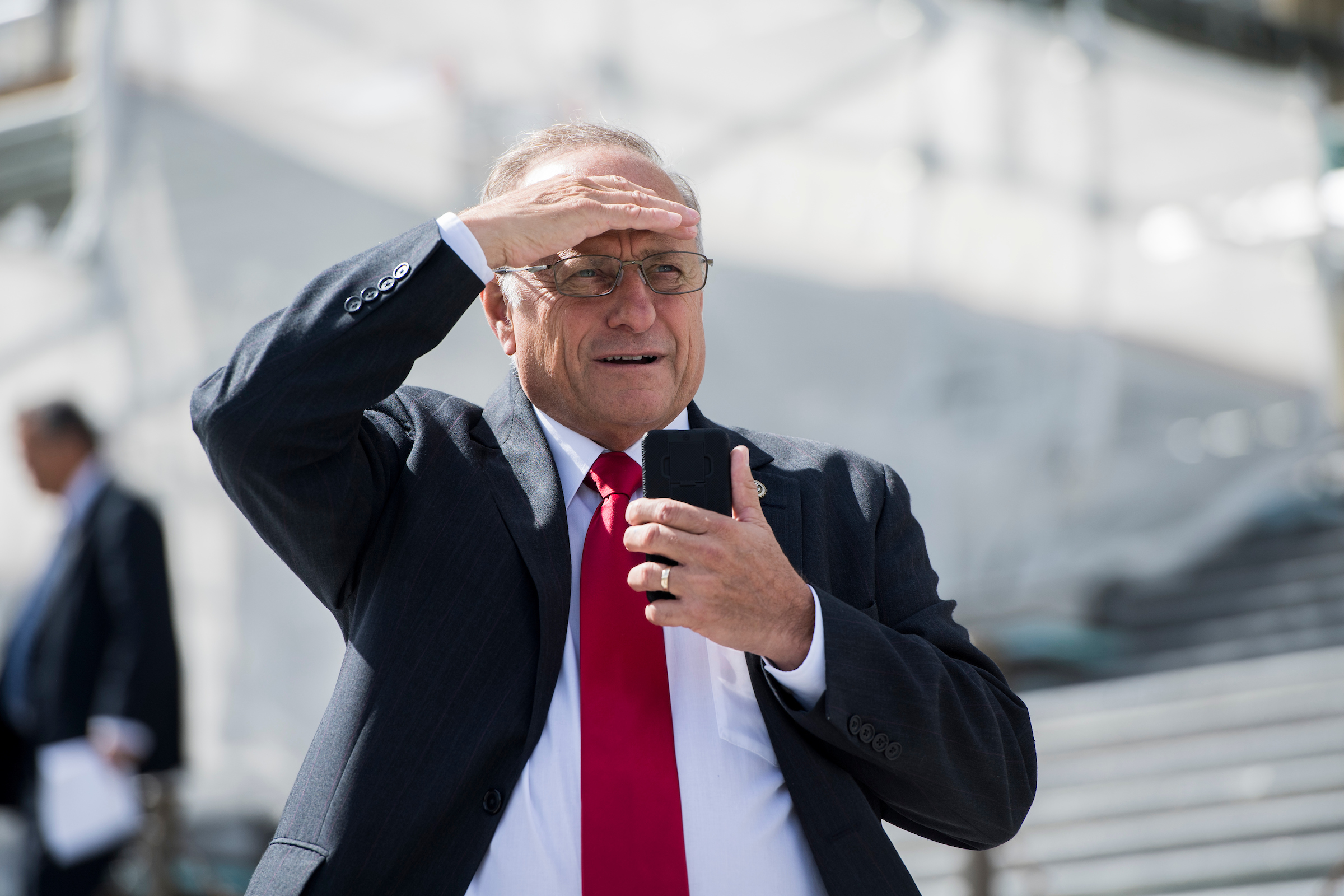 "Rep. Steve King, R-Iowa, is under pressure from constituents in the 4th District for comments he made questioning when ""white supremacy"" became an offensive term. (Bill Clark/CQ Roll Call file photo)"