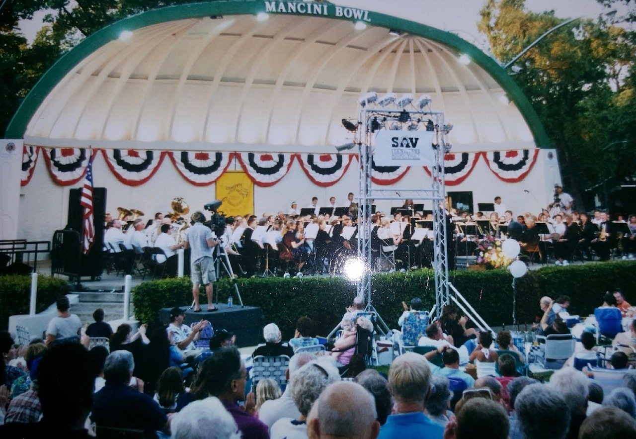 """The Modesto Band of Stanislaus County, or """"MoBand"""", is one of the oldest, continuously performing bands in the United States."""
