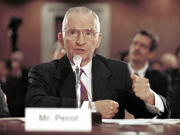 PerotR1101200 -- Ross Perot, CEO and Chairman of Perot Systems Corporation, testifies about Gulf War Illnesses during the Senate Subcommittee on Labor, Health and Human Services, Education and Related Agencies hearing..