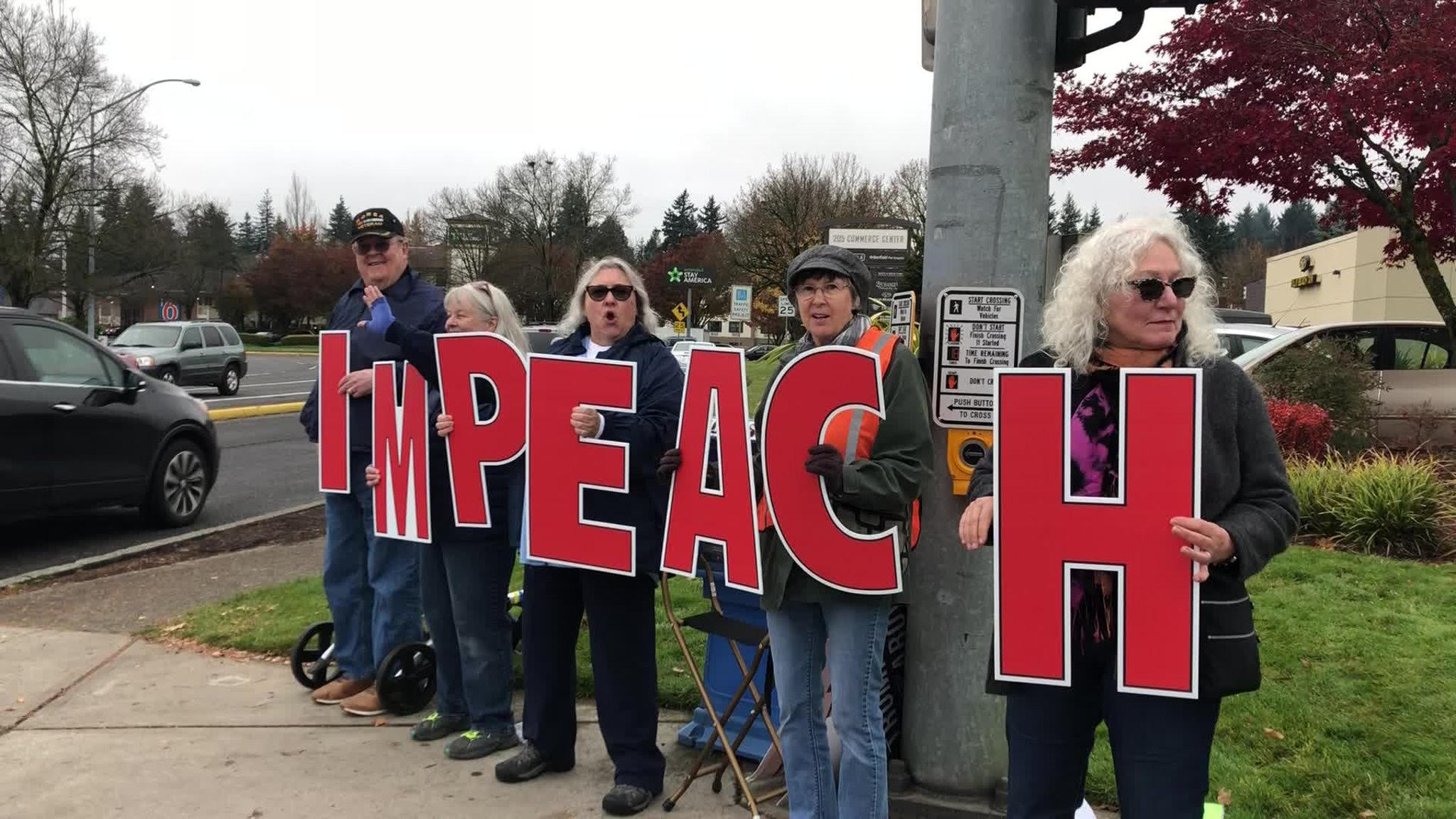 Some in the district are all in for impeachment. (Jacob Fischler/CQ Roll Call)