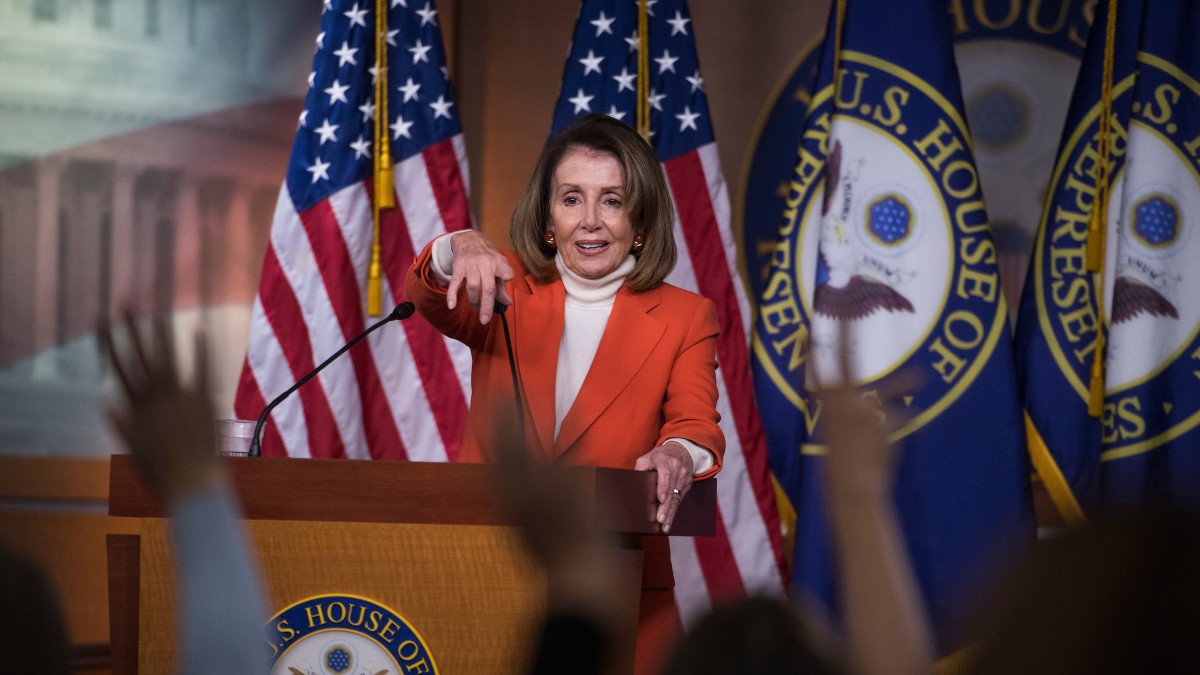 Speaker Races Are Usually Internal Affairs. Pelosi's Is Anything But